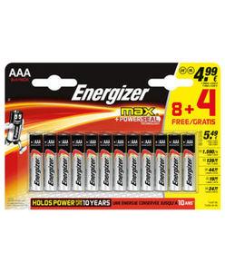 Energizer - Batterien - PowerSeal-Technologie - 12er-Pack