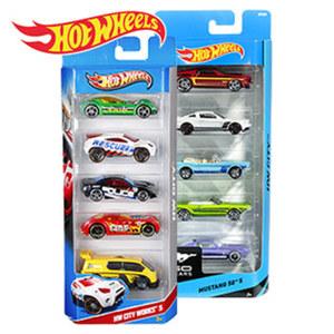 Hot Wheels 5er-Geschenkset ab 3 Jahren, ab 2 Stück, je