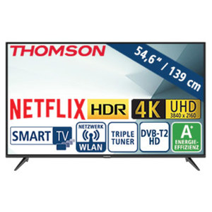 "55""-Ultra-HD-LED-TV 55UD6306 • HbbTV, H.265, HDR, Dual-Core • 3 HDMI-/2 USB-Anschlüsse, Cl+ • Stand-by: 0,26 Watt, Betrieb: 86 Watt • Maße: H 73,0 x B 124,2 x T 7,8 cm • Energie-Effizie"