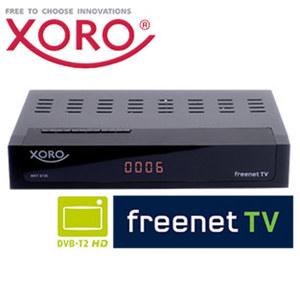 DVB-C-/DVB-T2-HD-Receiver HRT 8730 Hybrid PVRready • 4-stelliges Display • Aufnahme-Funktion über USB (PVRready) • HEVC/H.265, bis 1080p möglich • leistungsfähiger HD-Media-Player • EPG,