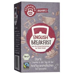 Teekanne ORGANICS Bio-Schwarzteemischung English Breakf 8.54 EUR/100 g