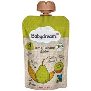 babydream Bio Fruchtpüree Birne, Banane & Kiwi 0.75 EUR/100 g