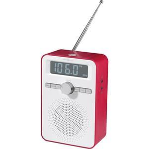 IDEENWELT Küchenradio weiß/rot