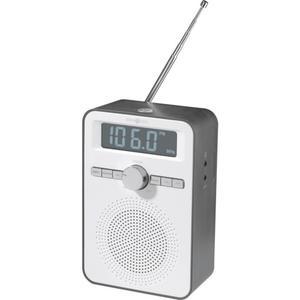 IDEENWELT Küchenradio weiß/grau