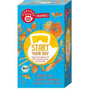 Teekanne ORGANICS Bio-Kräutertee Start Your Day 8.31 EUR/100 g