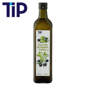 Natives Olivenöl extra jede 750-ml-Flasche