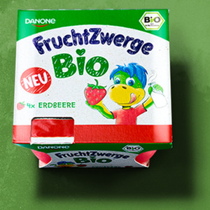 Danone Fruchtzwerge Bio versch. Sorten, jede 4 x 50 = 200-g-Packung