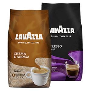 Lavazza Crema E Aroma oder  Cremoso jede 1000-g-Packung