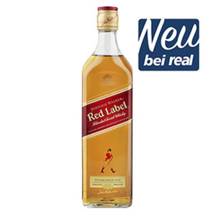 Johnnie Walker Red Label 40 % Vol.,  jede 0,7-l-Flasche