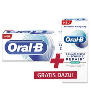 Oral-B Zahncreme Zahnfleisch + Zahnschmelz versch. Sorten, jede 75-ml-Packung