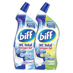 Biff WC Reiniger versch. Sorten, jede 750-ml Flasche