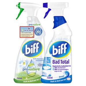 Biff Bad-Reiniger versch. Sorten jede 750-ml Flasche