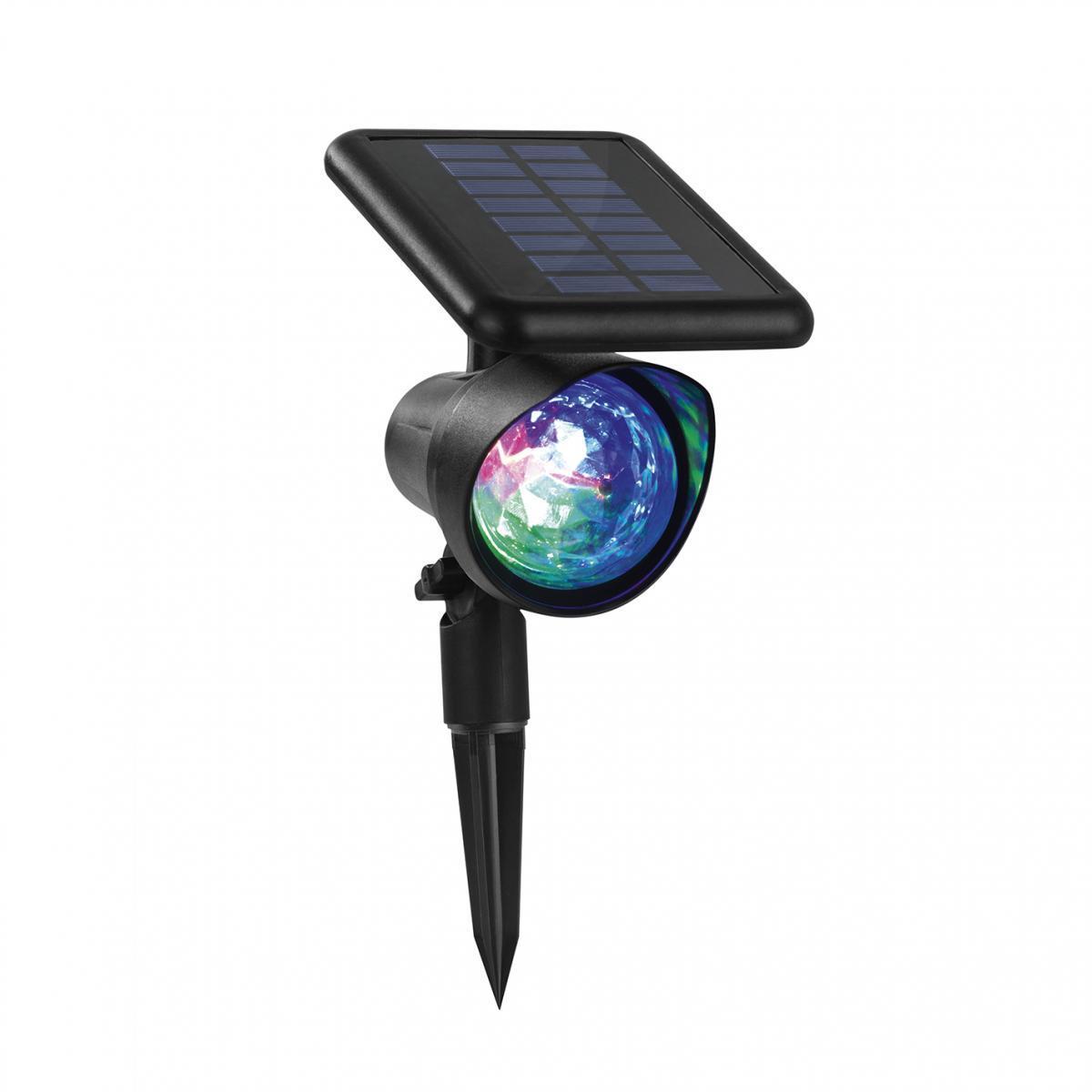 Bild 3 von EASYmaxx Solar-Partyleuchte Lichtpunkte 1,2V schwarz LED blau/grün/rot