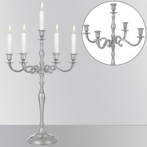 Deuba Kerzenleuchter 5-armig 40cm