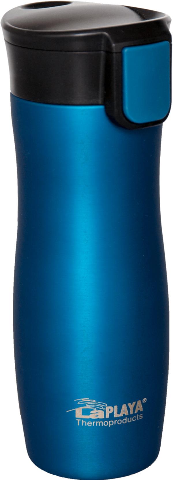 LaPLAYA One Hand Thermobecher 0,38 L blau