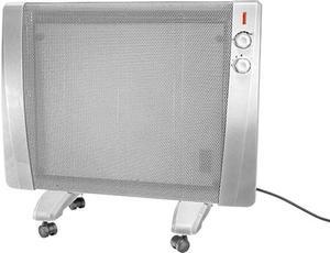 MAUK Wärmewellenheizer rollbar 1500W mit Thermostat und Überhitzungsschutz