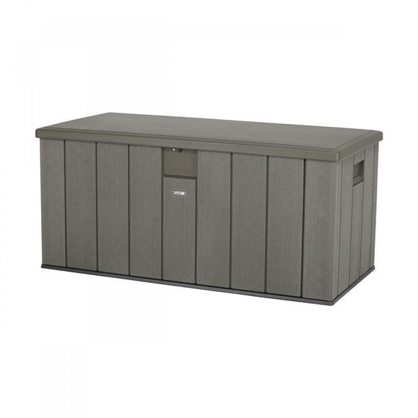 Lifetime Kissenbox Dunkelgrau 570 Liter
