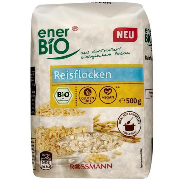 enerBiO Bio Reisflocken 4.38 EUR/1 kg