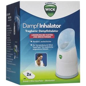 Wick Dampf Inhalator W1300