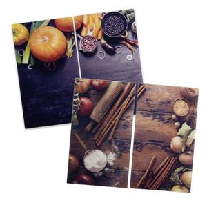 Casalino Herdabdeckplatten in verschiedenen Designs 2 Stück