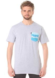 Neff Castro Pocket - T-Shirt für Herren - Grau