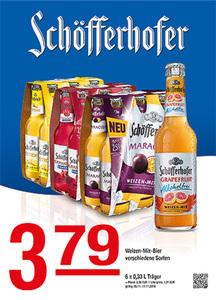 Schöfferhofer Weizen-Mix-Bierverschiedene Sorten