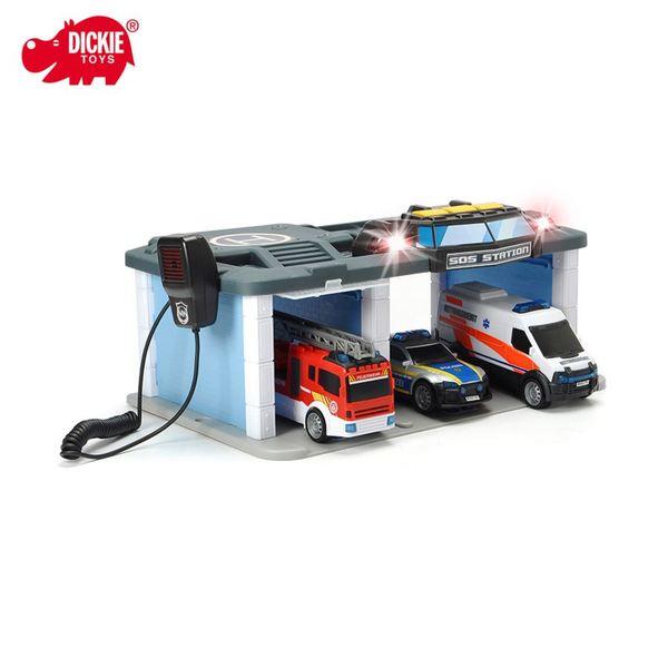 Dickie Toys Rettungszentrum 32,5x16x22,5cm