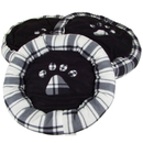 Bild 1 von Hundebetten rund mit Pfoten-Aufdruck 3er-Set