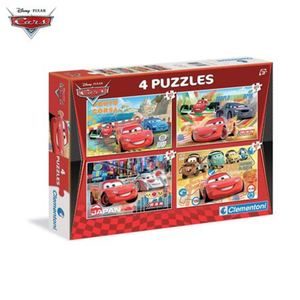 Puzzleset Cars 4in1