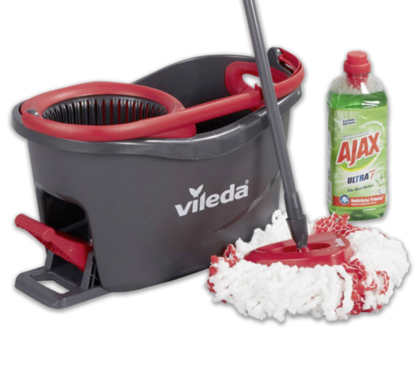 Vileda Easy Wring And Clean Bodenwischer Turbo Komplett Set Von