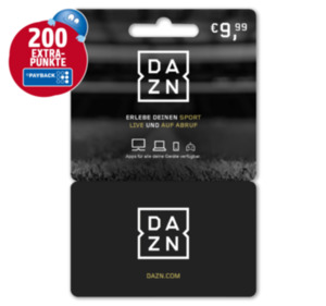 DAZN-Karten
