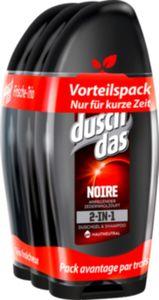 Duschdas For Men Duschgel Noire 3 x 250 ml