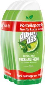 Duschdas Duschgel Prickelnd Frisch  3 x 250 ml