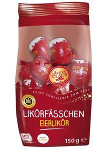 Santa Claus In Town Eierlikör Fässchen