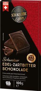Tafelschokolade Zartbitter 72% Schokoliebe Edition 100 g