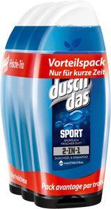 Duschdas For Men Duschgel Sport 3 x 250 ml