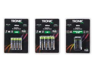 TRONIC® NiMH-Akkus