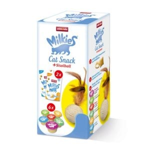 Animonda Milkies Cat Snack + Sisalball 255g
