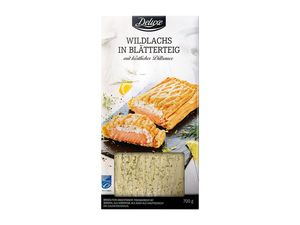 MSC-Wildlachs in Blätterteig