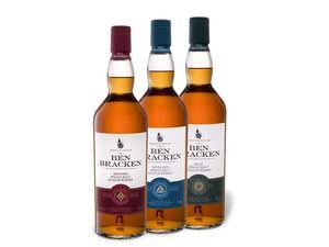 Ben Bracken Whiskypaket 3 x 0,7-l-Flasche