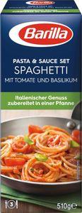 Barilla Pasta & Sauce Set für Spaghetti Basilico
