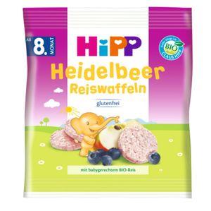 HiPP Heidelbeer Reiswaffeln
