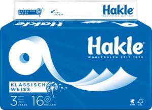Hakle Toilettenpapier Klassisch Weiß