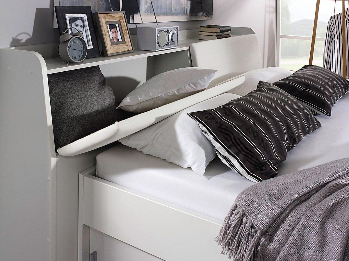 Bild 2 von Rauch Bett Rostock mit Stauraum-Kopfteil,Bettkasten und Stoffboxen