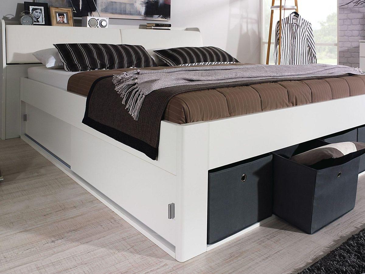 Bild 3 von Rauch Bett Rostock mit Stauraum-Kopfteil,Bettkasten und Stoffboxen