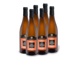 6 x 0,75-l-Flasche Weinpaket Cà de Monaci Bianco Terre Siciliane, Weißwein