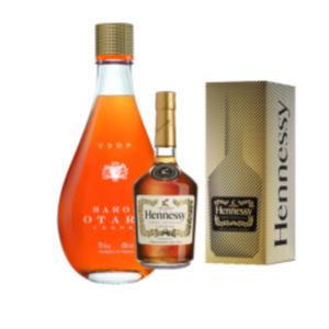 Hennessy VS Cognac oder Baron Otard VSOP Cognac