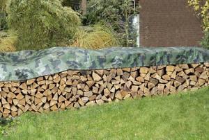 Holzstapelabdeckplanen in verschiedenen Größen