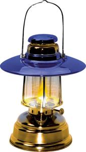 Docht Lampe f. Petroleum, mit Reflektorschirm Wetelux