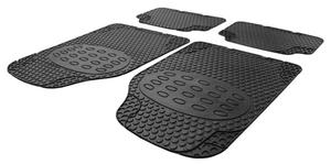 Kfz Gummi Fußmatten Set DROP 4 tlg. Cartrend